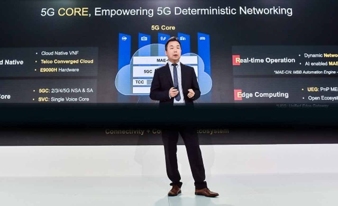 Huawei pitches 5G Deterministic Networking