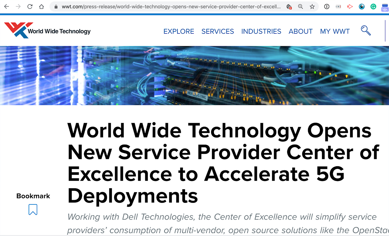 WWT and Dell develop/validate telco blueprints